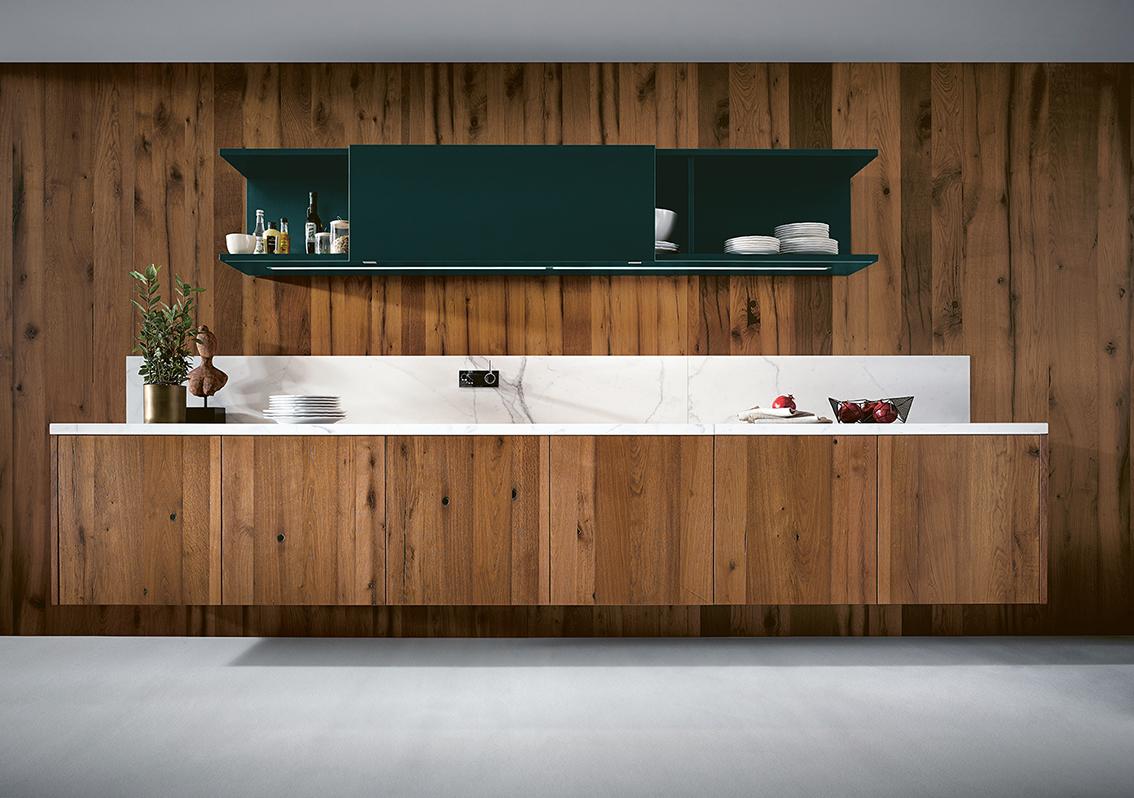 Cuisine bois next 125 littoz annecy moderne design contemporain