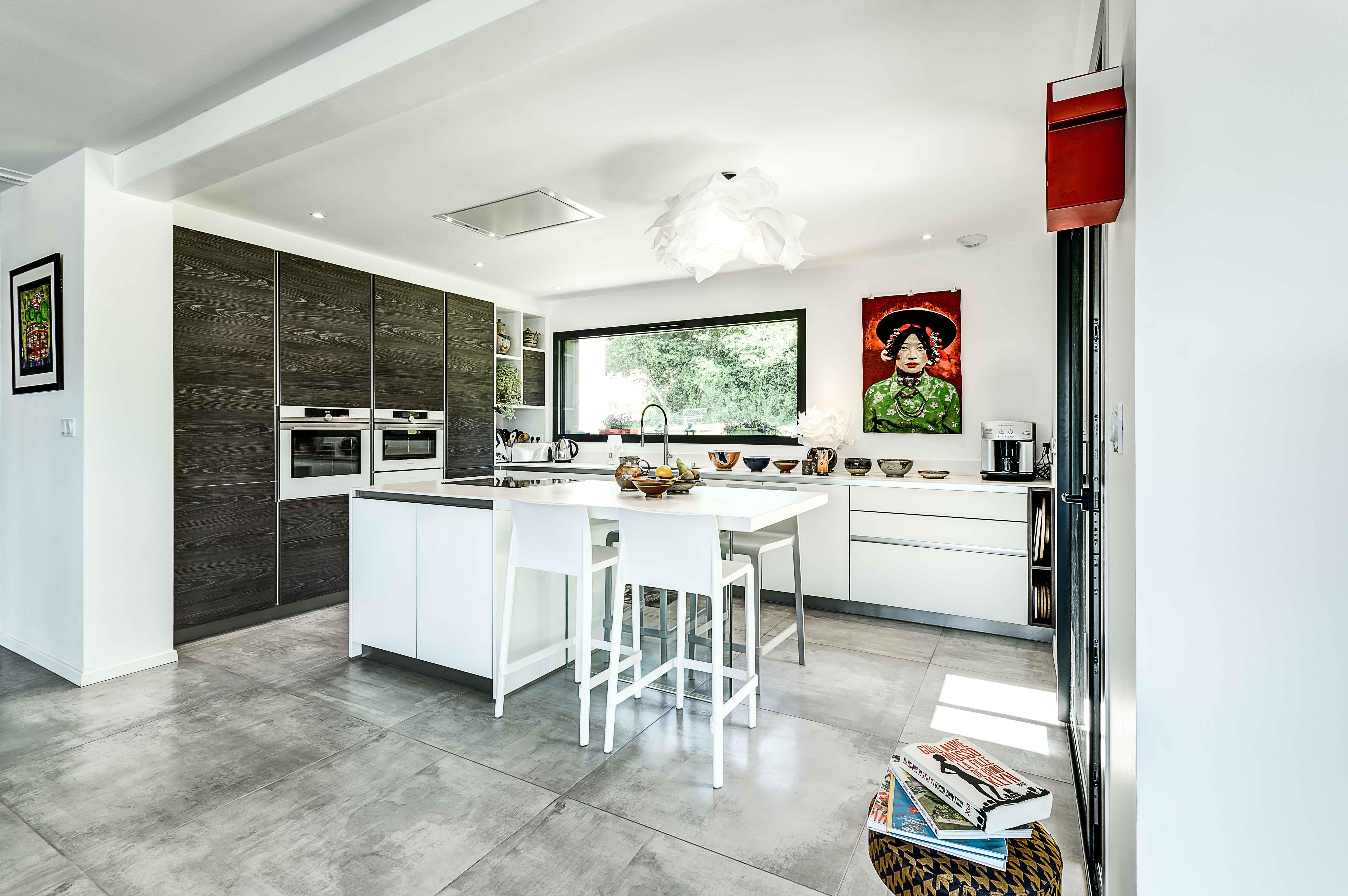 réalisation par des cuisinistes professionnels architectes d'intérieur décorateurs sur annecy