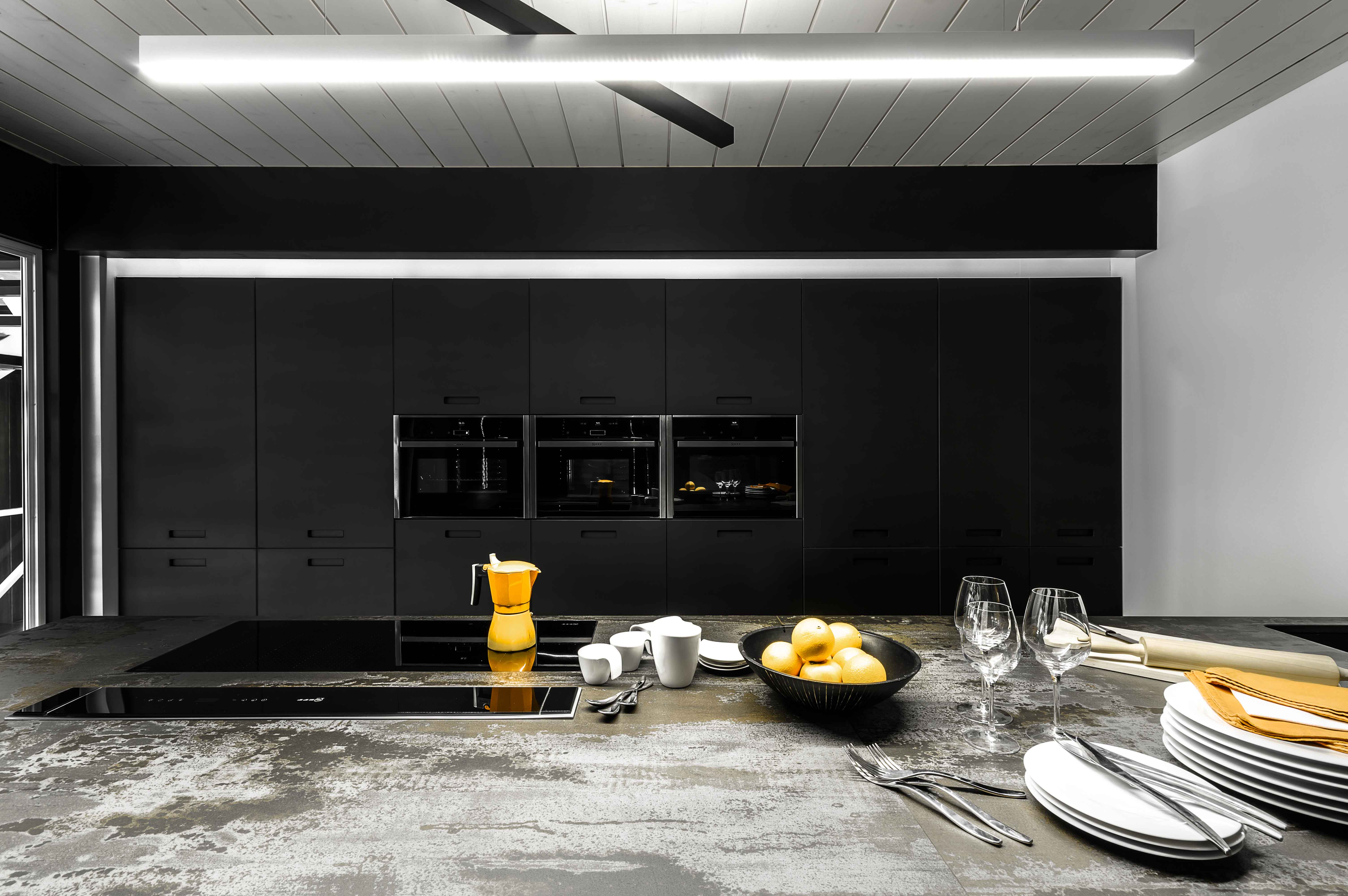 réalisation et installation d'une cuisine style scandinave moderne design contemporain