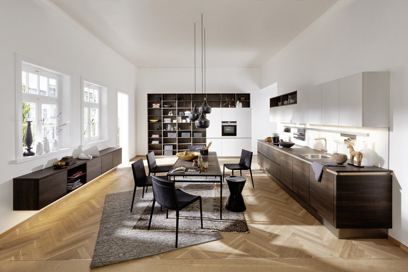 cuisine lumineuse ergonomique pratique design moderne