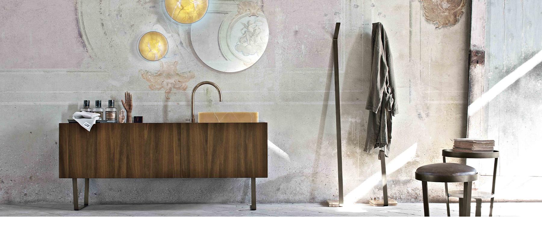 Salle de bain influences vintage intérieur littoz annecy