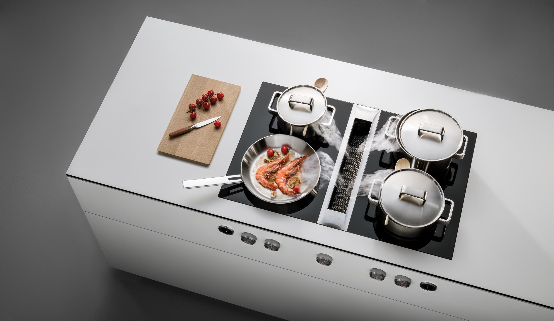 équipement pour cuisines équipées moderne haut de gamme marque BORA