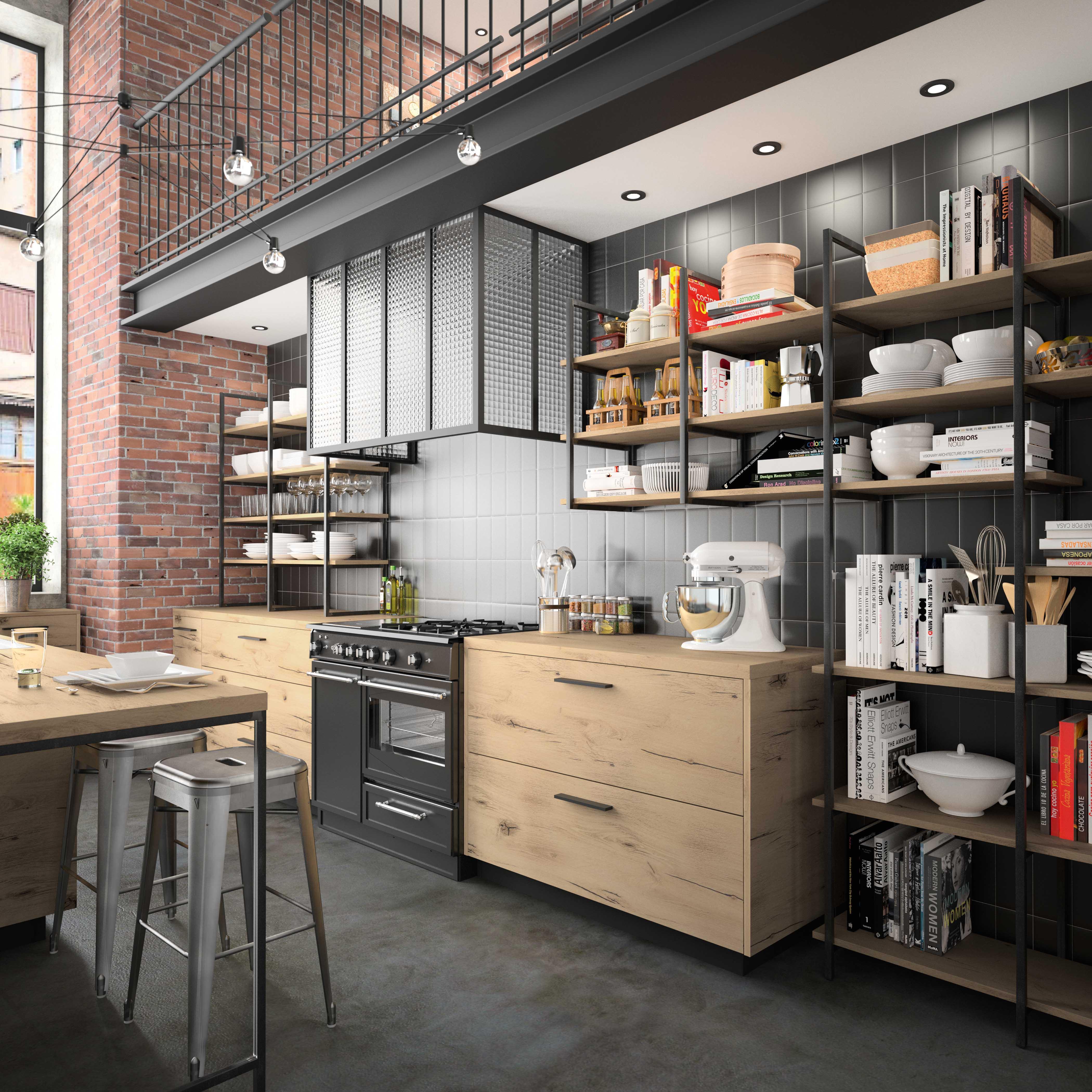 aménagement meubles de cuisine moderne morel