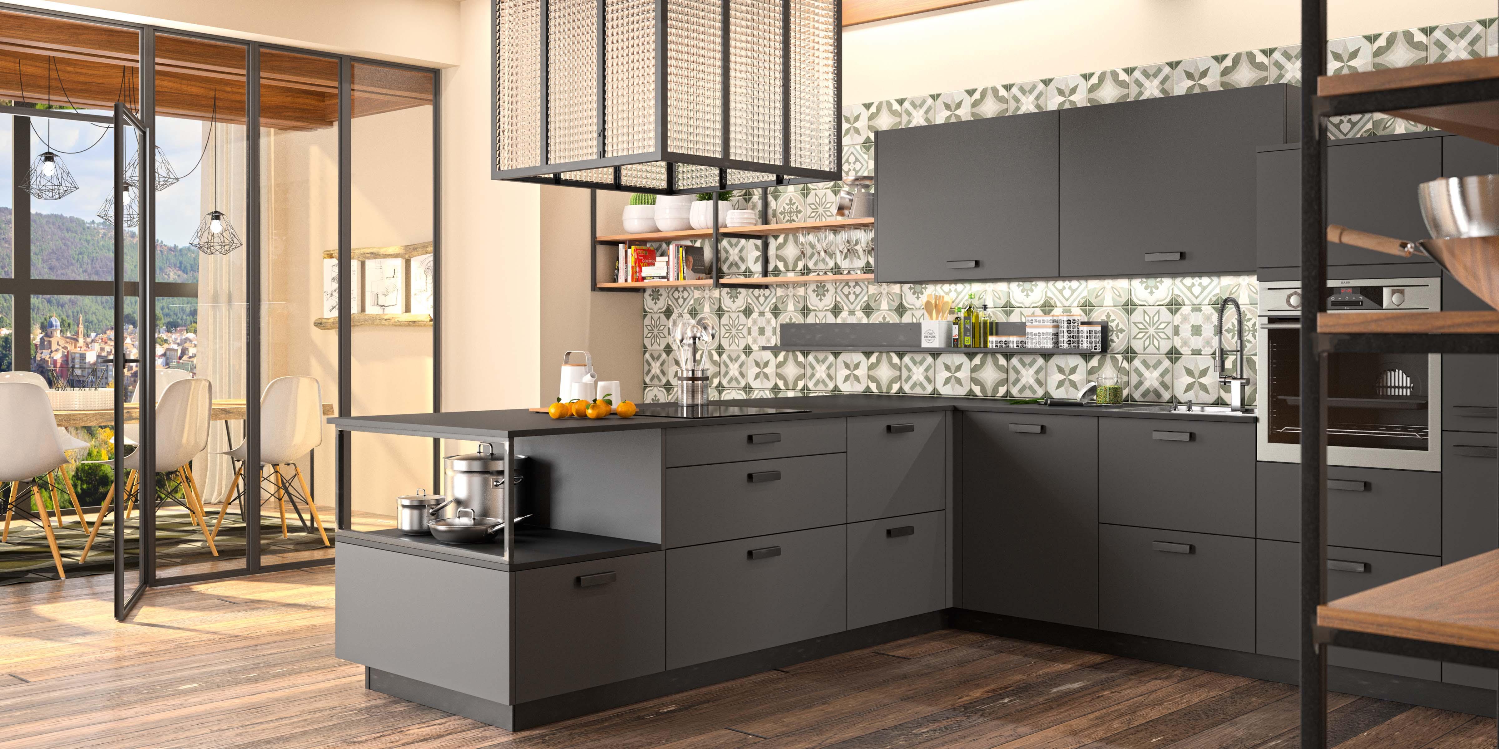 Installation cuisine industrielle Morel par Intérieur Littoz
