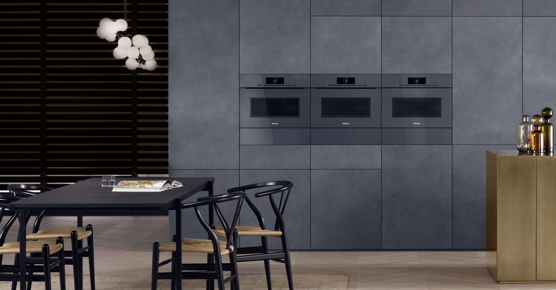 Cuisine ultra design contemporain salle à manger style moderne annecy Intérieur Littoz