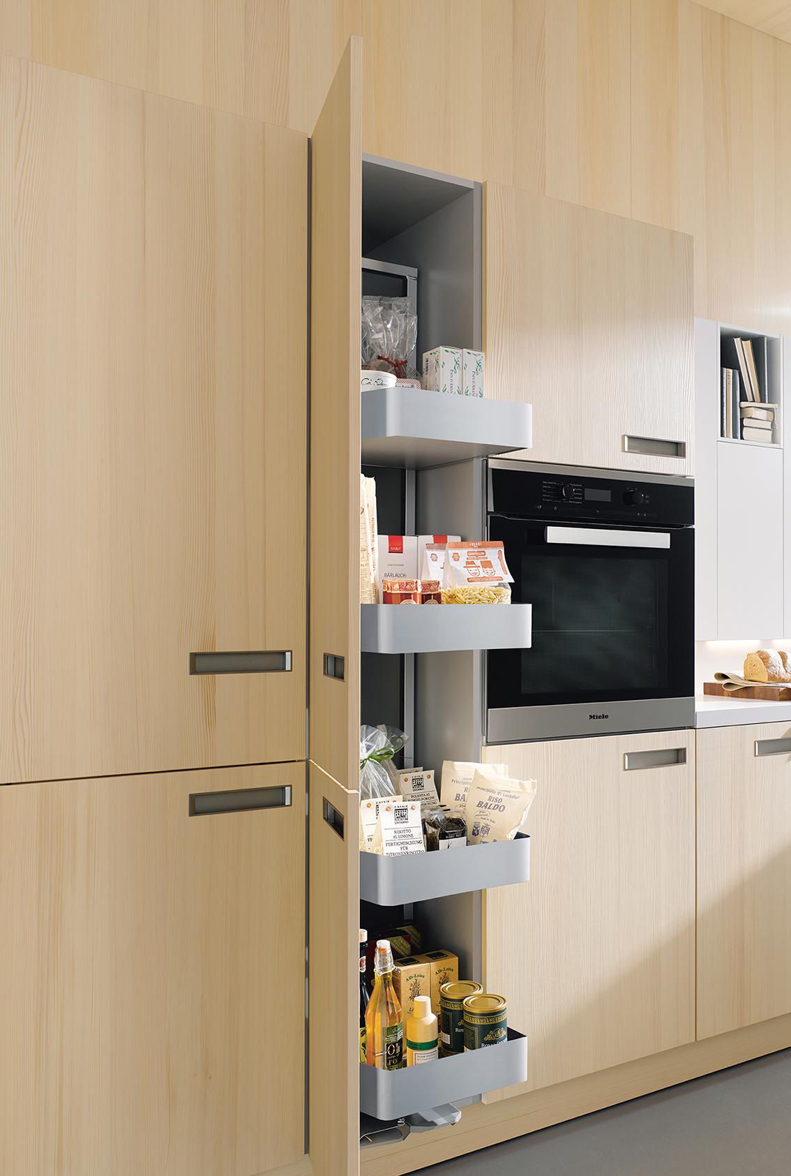Rangement et électroménager cuisine moderne équipée annecy haute savoie 74