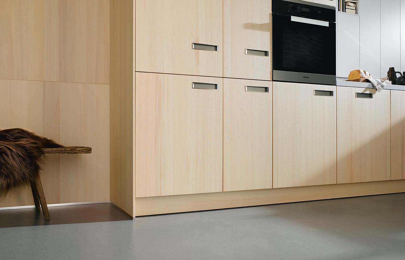 Cuisine intégrée et équipée moderne ambiance élégante haut de gamme annecy