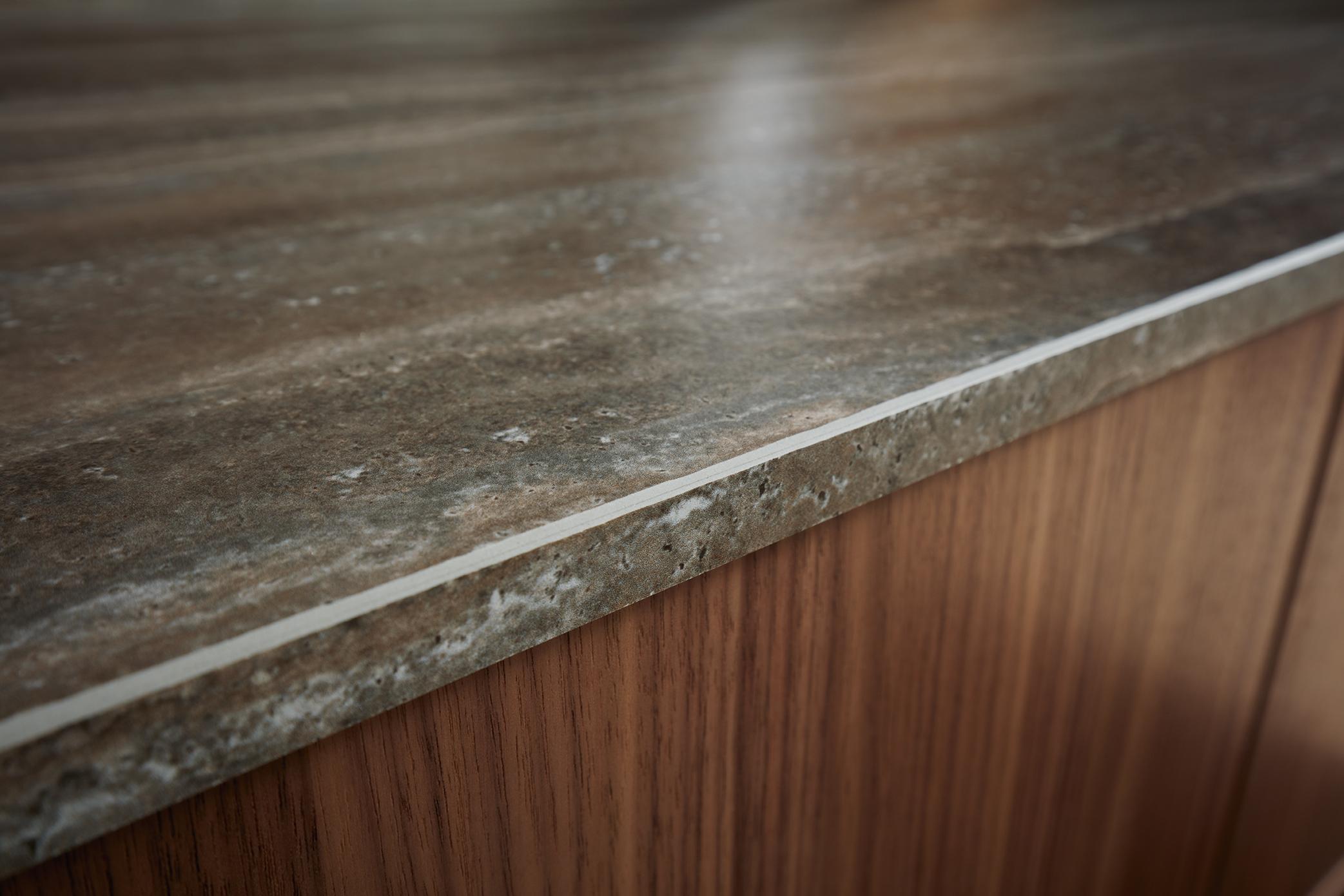 table et plan de travail cuisine nordique unique en marbre