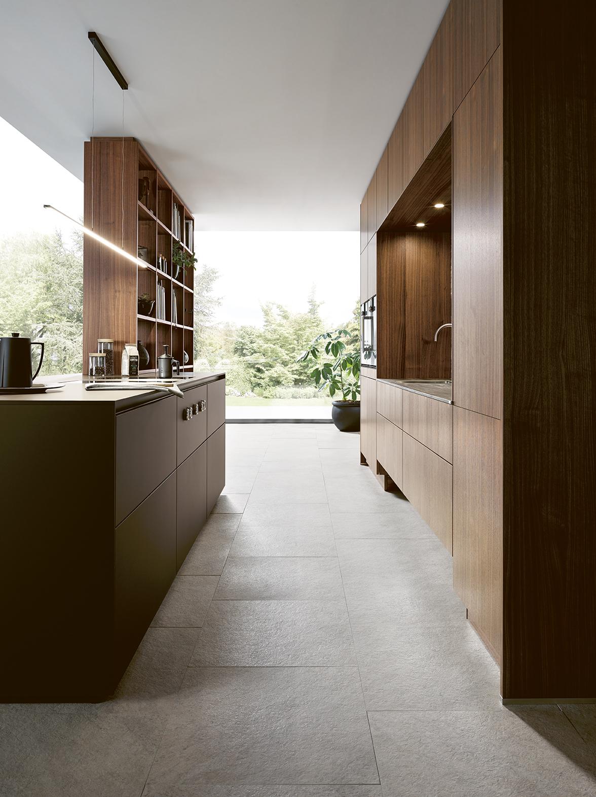 intérieur lumineux cuisine équipée sur mesure annecy