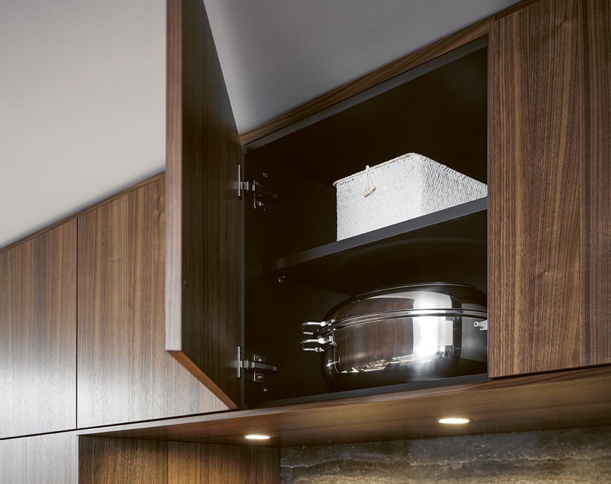 Rangement pour cuisine équipée en bois intérieur annecy littoz