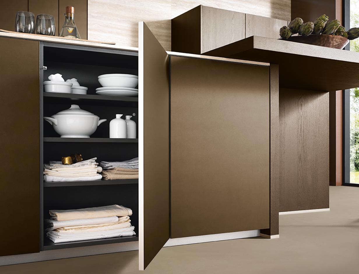 Placards muraux et rangement aménagement intérieur cuisine moderne et design annecy