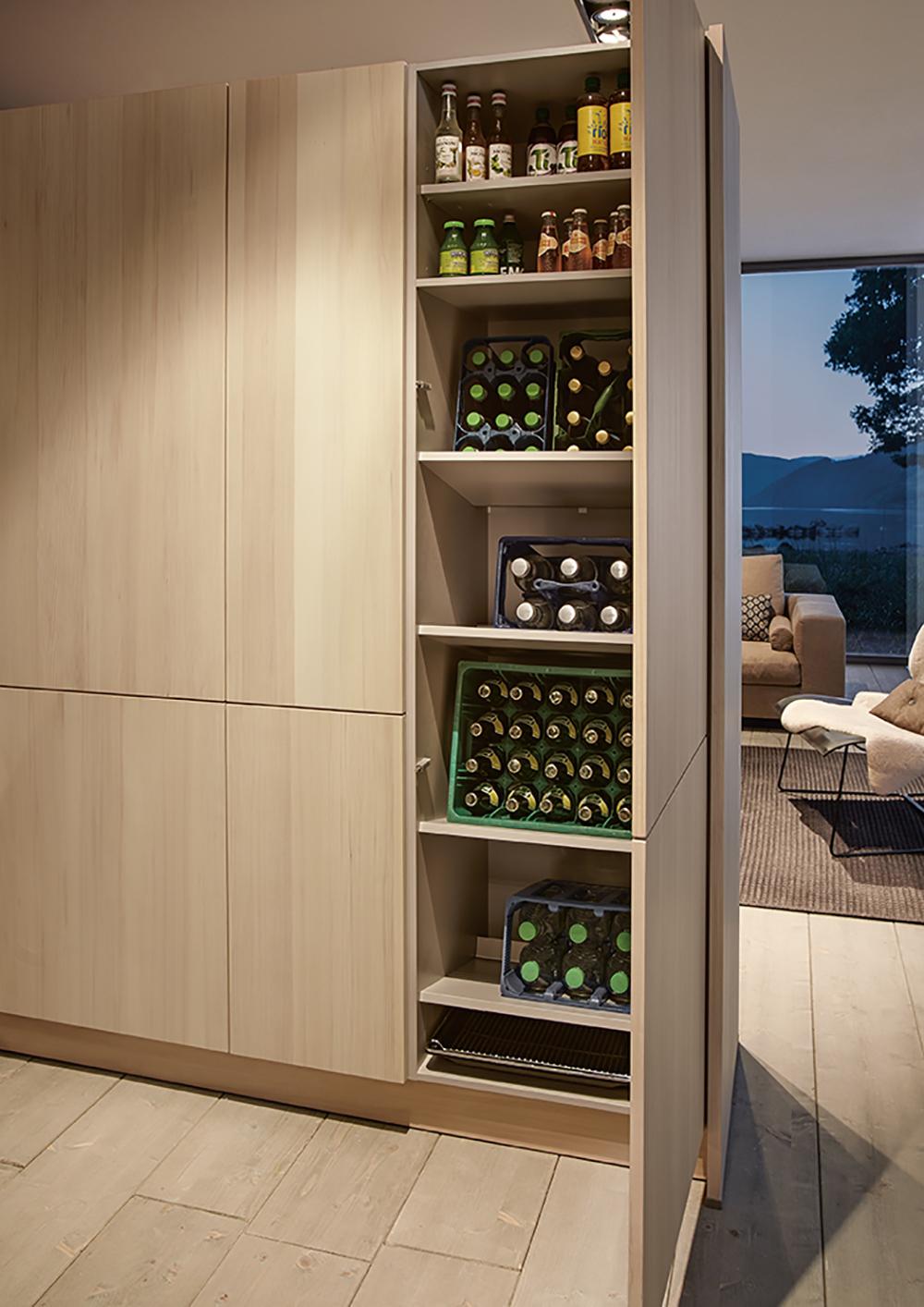 meuble next125 aménagement salon cuisine moderne sur mesure annecy