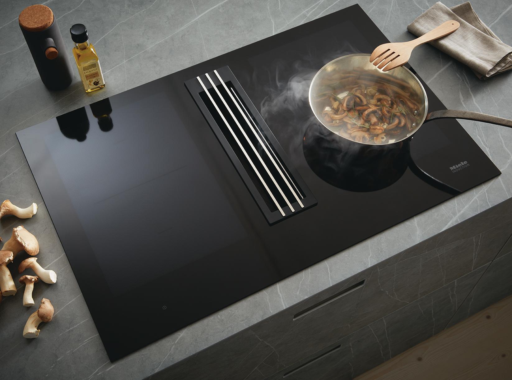 Système d'aspiration Miele cuisine Next 125 posée par Intérieur Littoz cuisiniste annecy