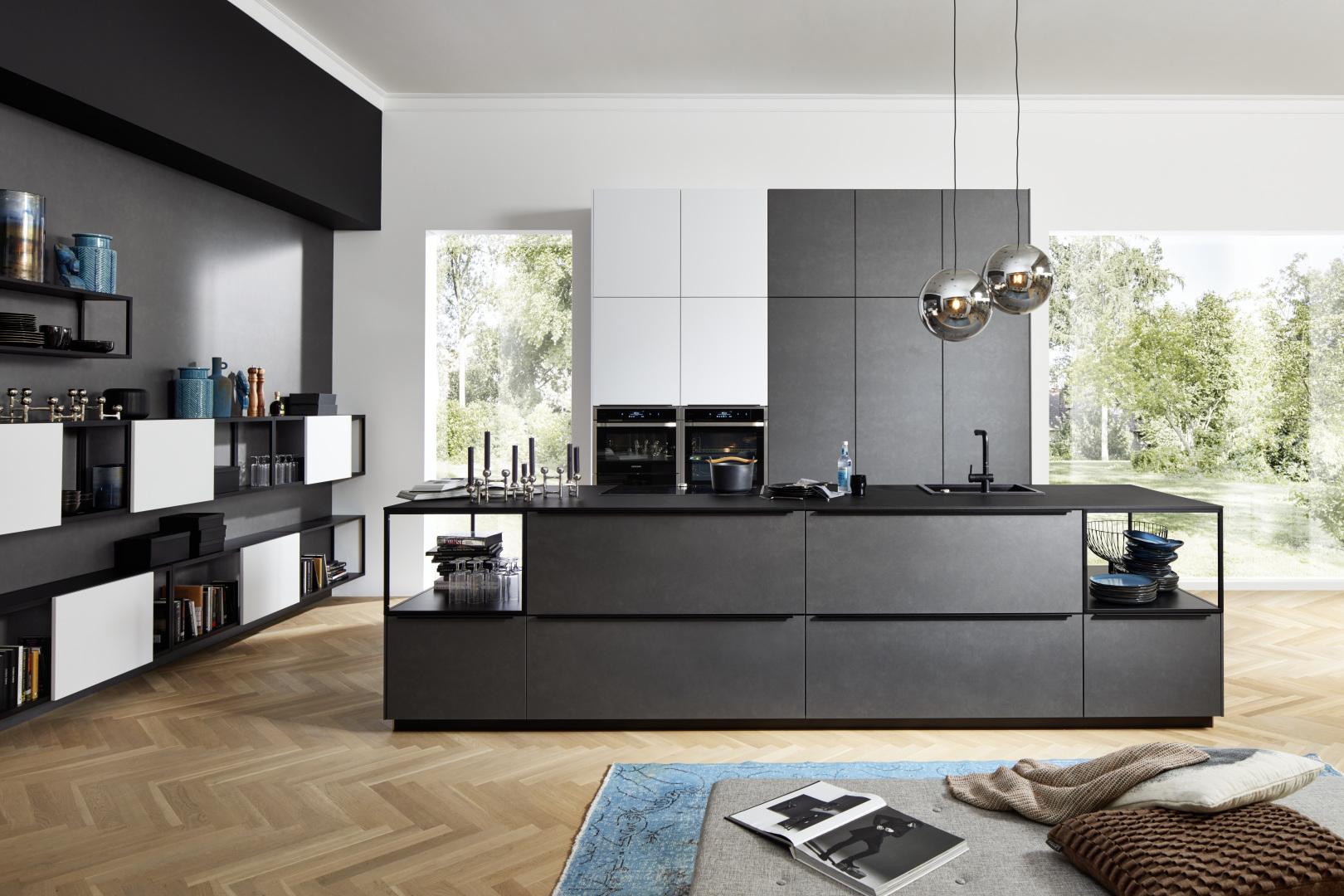 magnifique style contemporain avec salon et cuisine au design scandinave