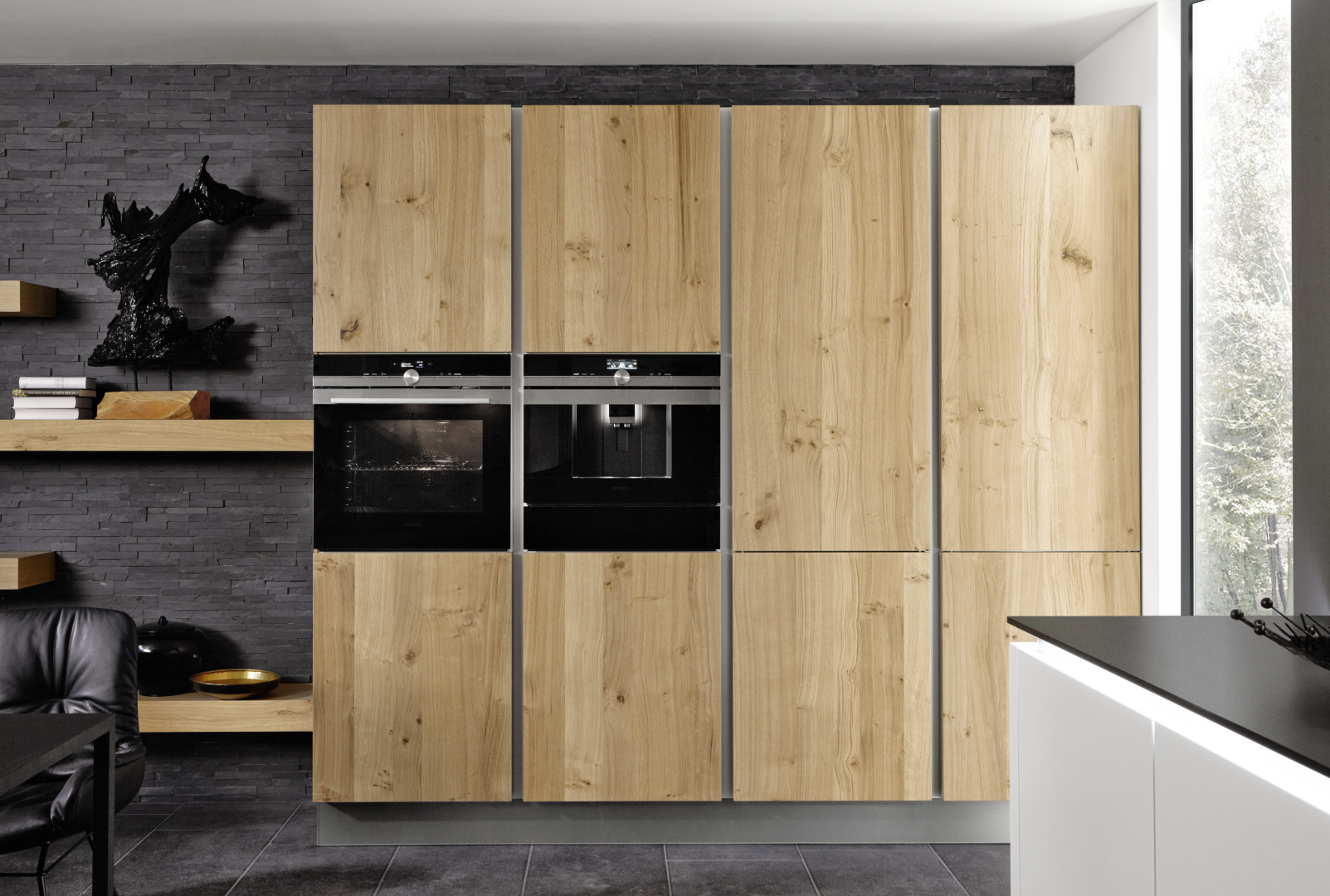 Belle cuisine intérieur bois moderne intérieur littoz réalisation