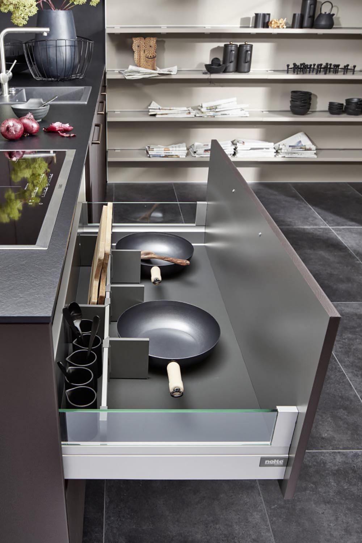 aménagement meuble rangement vaisselle ergonomique fonctionnalité