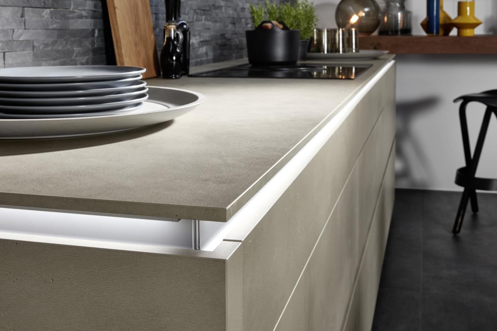 meuble marron moderne pour meuble de cuisine aménagement haut de gamme
