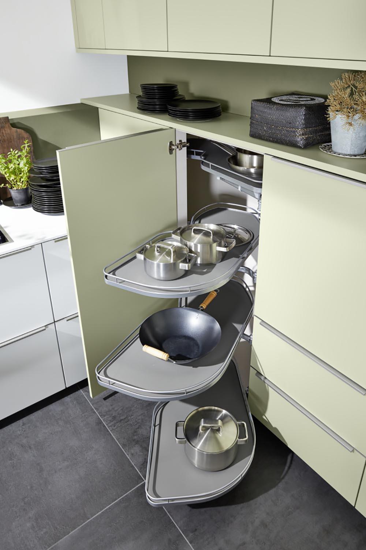 meuble coulissant pour cuisine aménagée moderne