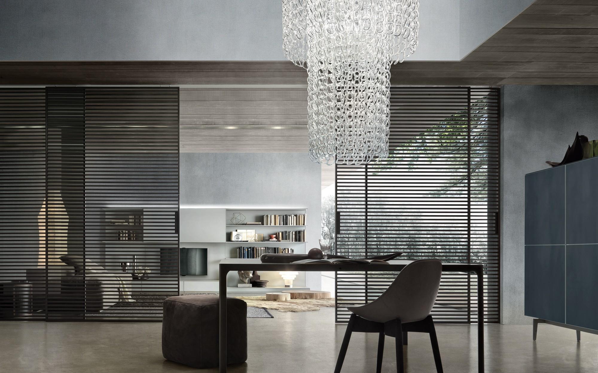 panneaux coulissants rimadesio stripe contemporain Intérieur-Littoz annecy