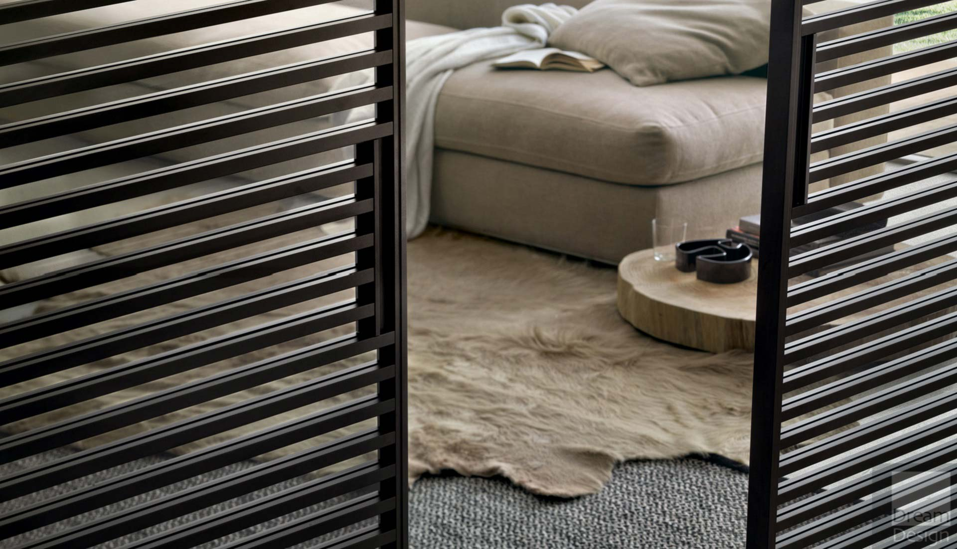 panneaux coulissants rimadesio stripe moderne annecy