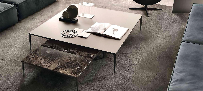 table basse haut de gamme rimadesio sur annecy