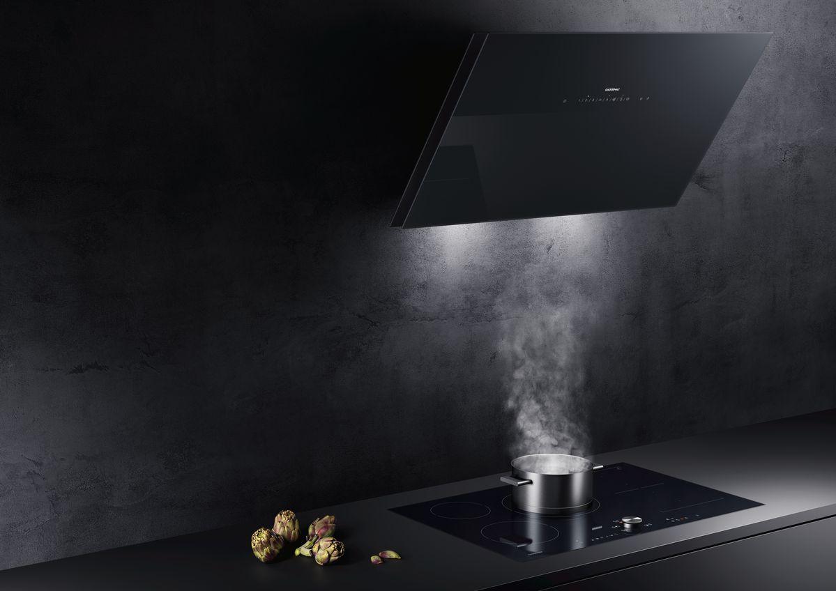 hotte latérale design gaggenau cuisine unique et personnalisée Intérieur Littoz