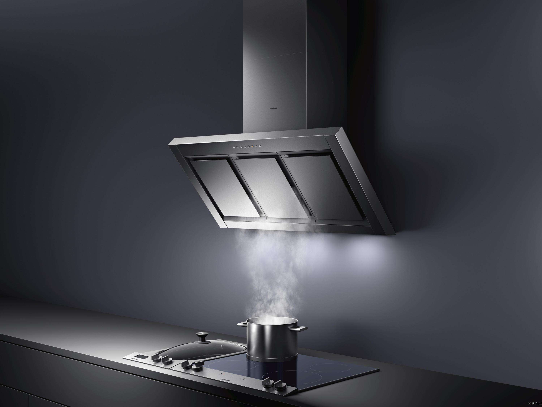 Système d'aspiration latéral Hotte pour cuisine sur mesure environnement unique
