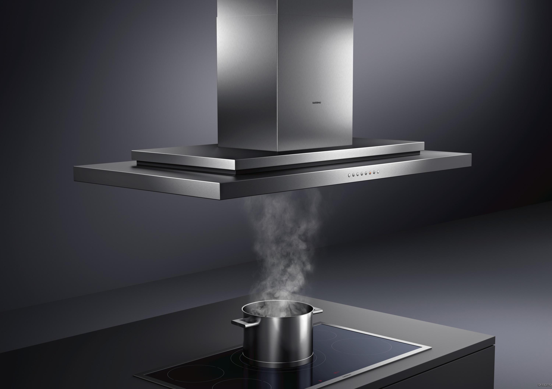 Hotte aspirante inox ultra moderne design moderne Gaggenau annecy