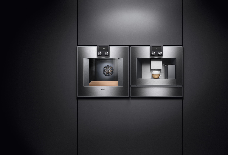 Four et machine à café cuisine Gaggenau moderne et design épurée annecy