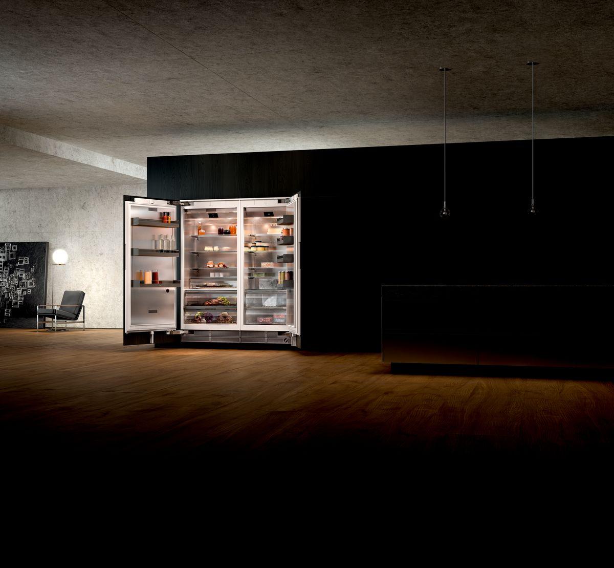 Cave à vin pour cuisine marque allemande haut de gamme