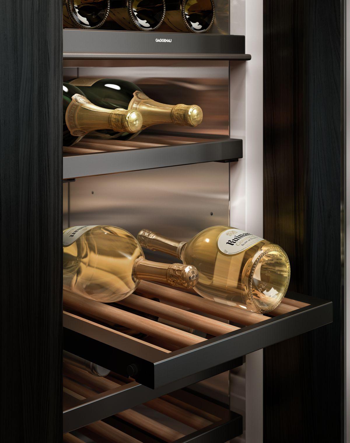 Cave à vin design matériaux soignés design