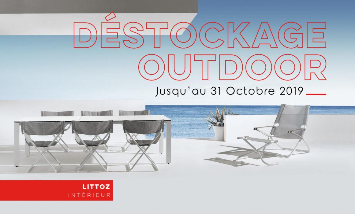 Lit Exterieur Design déstockage sur le mobilier outdoor - promotion de 20%