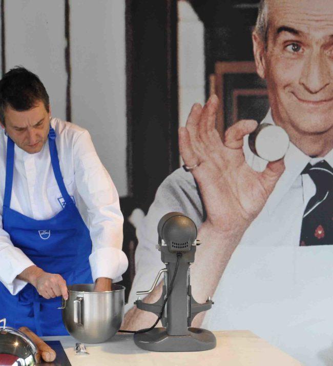 Chef cuisinier Littoz événement culinaire et essai auto