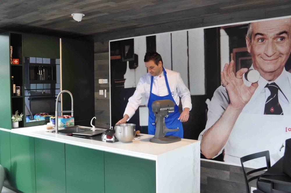 cuisine Littoz aménagement sobre et moderne avec un mobilier de cuisine épuré et contemporain Annecy (74)