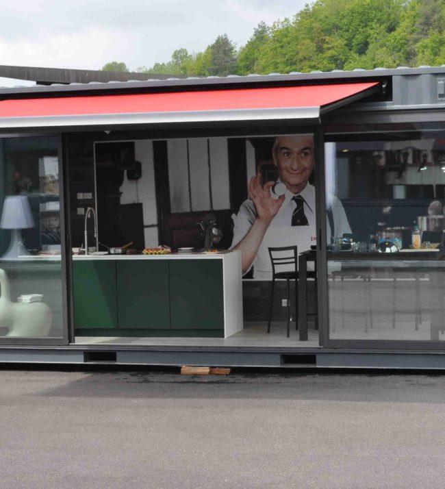 Nouvel espace événementiel Littoz Annecy aménagement cuisine et habitat