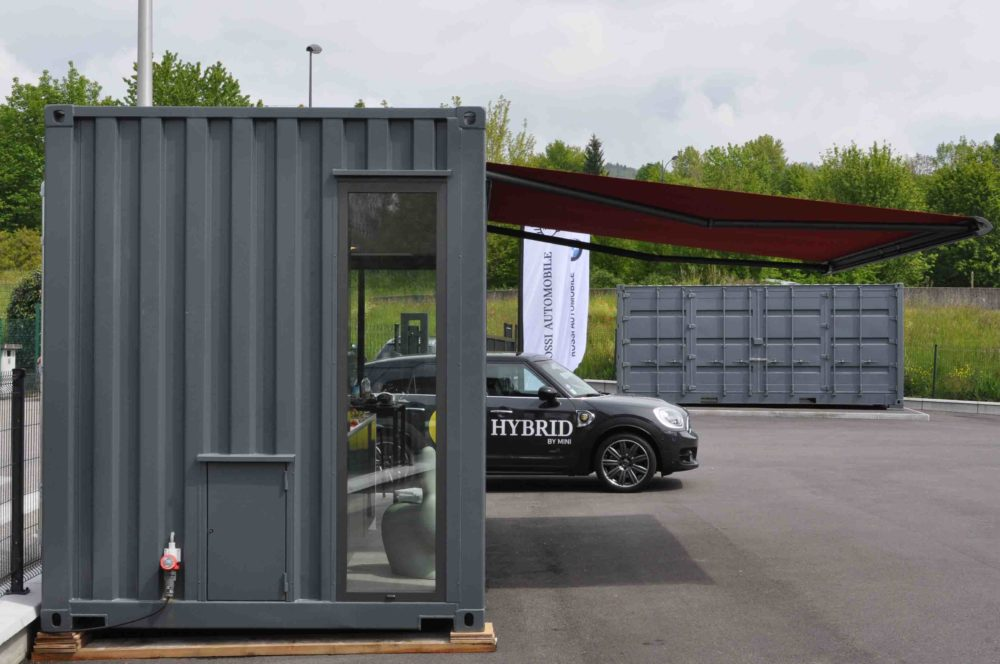 Inauguration Showroom Argonay Interieur Littoz partenariat Annecy Mini et BMW