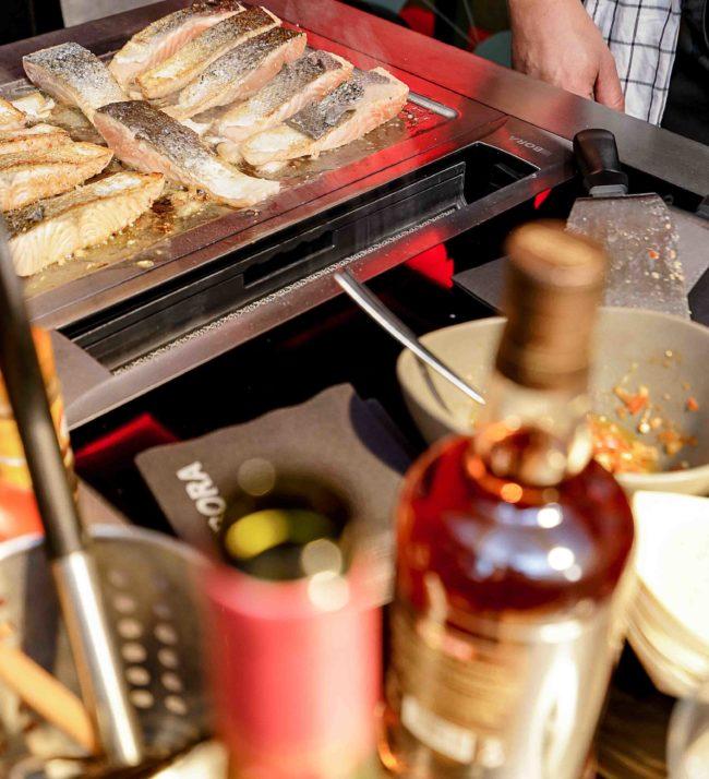 Préparation nourriture cuisine Annecy