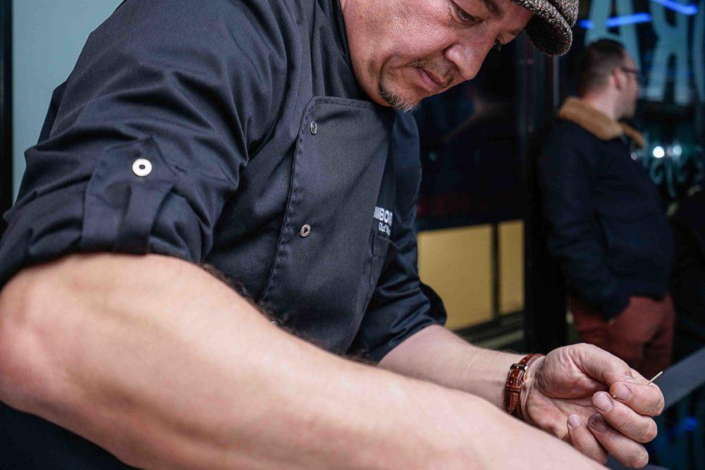 Cuisinier pour l'événement BORA Intérieur Littoz