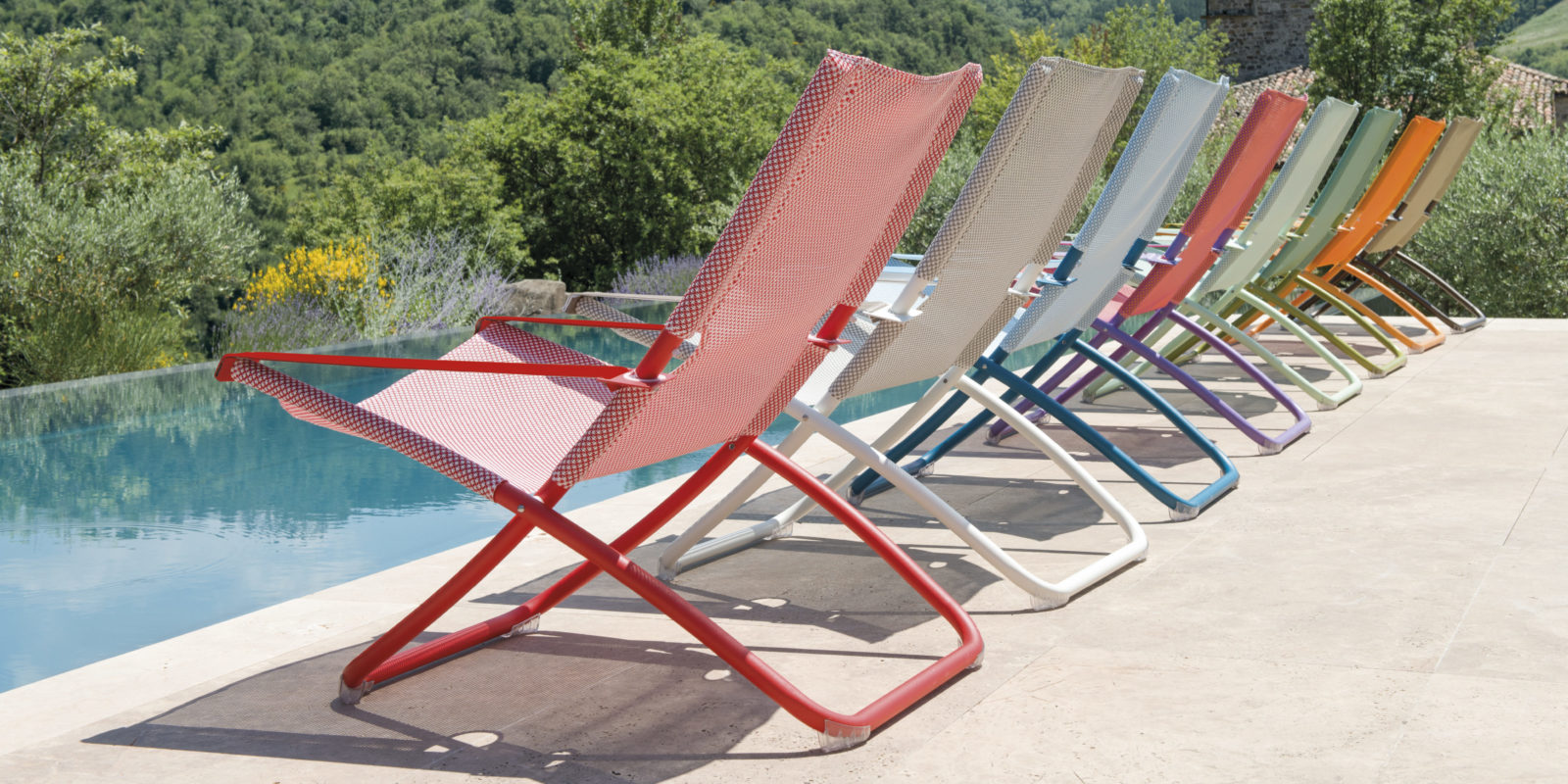 Chaises longue collection outdoor annecy argonay