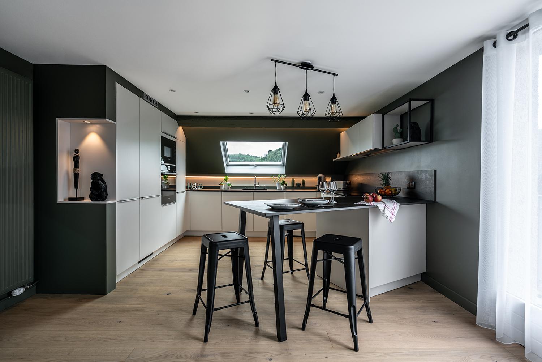 Installation d'une cuisine aménagée